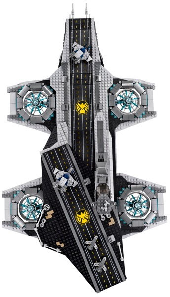 Lego helicarrier photo4 full
