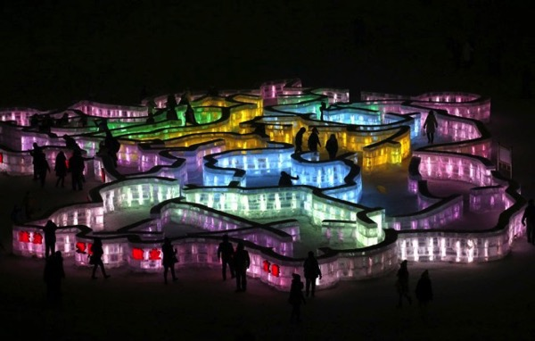 The 2015 Harbin Ice and Snow Festival 6 640x408