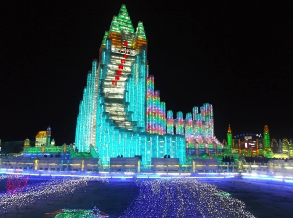 The 2015 Harbin Ice and Snow Festival 8 640x477