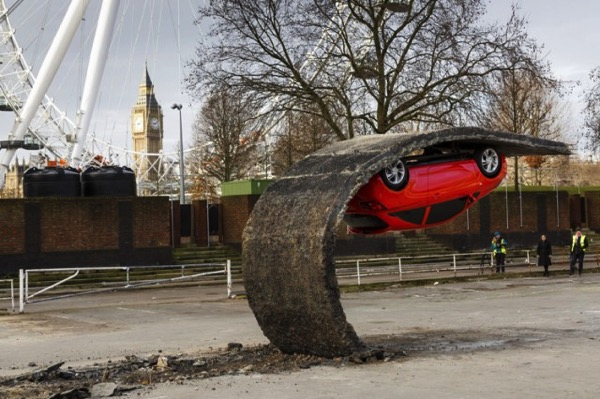 Vauxhall Motors Insallation by Alex Chinneck 1 640x426